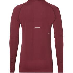 asics Seamless Running Shirt longsleeve Women red